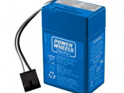 6 Volt Blue Battery