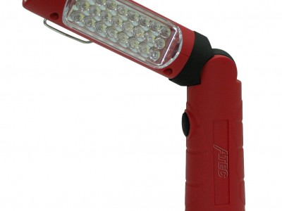 ATEC FOLDING LIGHT, 24+5 LED 700-800 LUMEN, 3.7V Li-ION BATTERY