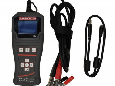 HAND HELD BATTERY-ELECTRICAL SYSTEM TESTER, W/USB PRINTER CABLE & SOFTWARE CD