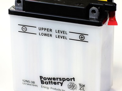 12N5-3B Powersport Batteries