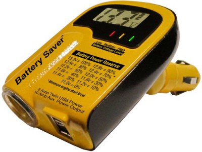 Battery Tester Voltmeter USB