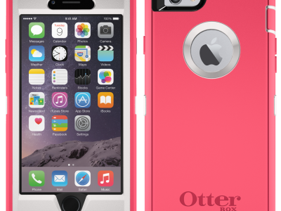 Commuter OtterBox #466 iPhone 6 Plus Neon Rose PNK