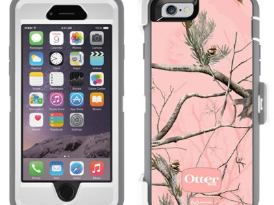 Defender OtterBox #463 iPhone 6 Pink Tree AP Camo PNK