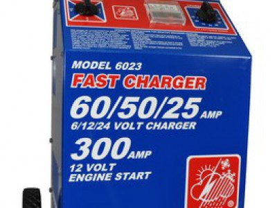 CHARGER, 6/12/24V 60/50/25A 230V 50/60HZ (International)