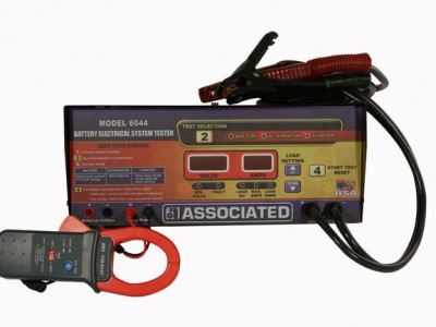 ELECTRICAL SYSTEM TESTER, 12/24V 500A DIGITAL