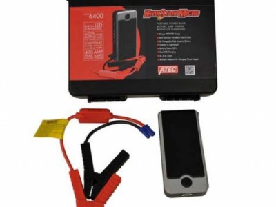 ATEC KWIKSTART MICRO, 12VOLT, 400AMP, LITHIUM POWER BANK, JUMP START
