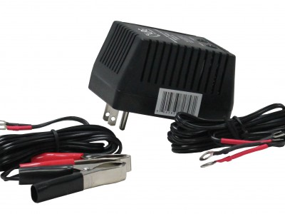 Retail Packaging: 12V, 1000 mA regulated, three stage battery charger/maintainer