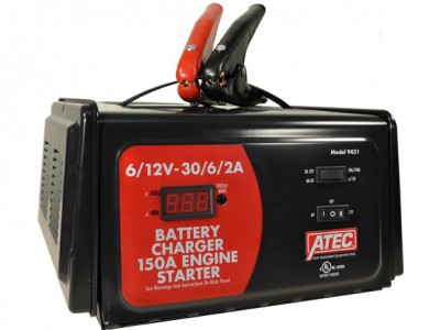 ATEC CHARGER, 6/12V 30/2A 150A START