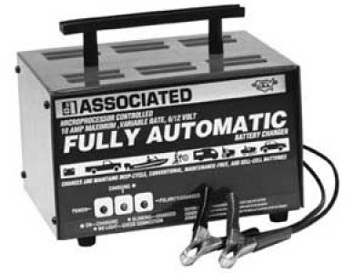 CHARGER, 6/12V 10A AUTOMATIC 230V 50/60HZ (International)