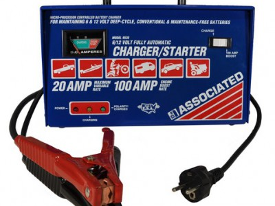 CHARGER, 6/12V 20A AUTOMATIC 230V 50/60HZ (International)