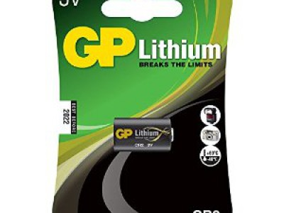 GP 3V Lithium CR2, 1pk carded