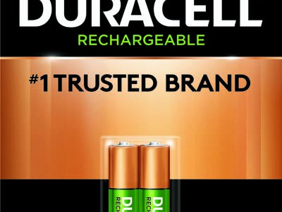 Duracell NiMh Rechargeable Consumer Batteries (2pk)