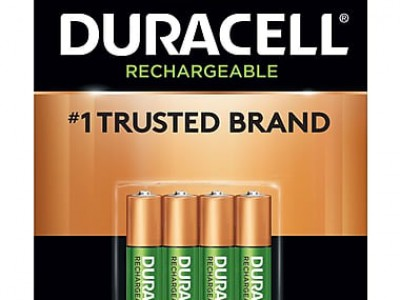 Duracell NiMh Rechargeable Consumer Batteries (4pk)