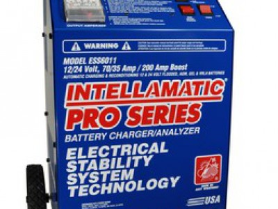 CHARGER/ANALYZER 12/24V 70/35AMP 200AMP BOOST,INTELLAMATIC, WHEELS (ESS)