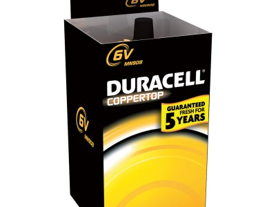 Duracell Coppertop 6V Lithium