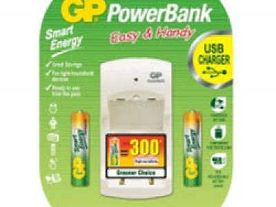 GP Smart Energy AA-AAA/PB310 Charger Bundle Promo Pack