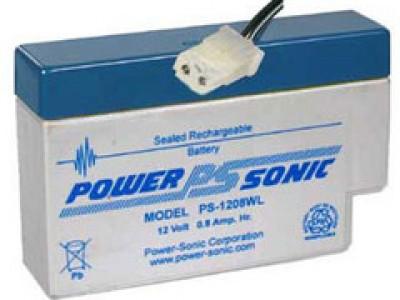 Powersonic PS-1208 12 Volt  0.8AH