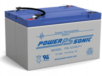 Powersonic PS-12100 12 Volt  12AH F1