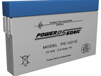 Powersonic PS-1221S 12 Volt  2AH