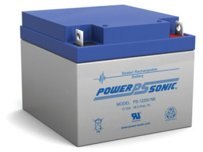 Powersonic PS-12260 12 Volt  26AH NB Terminal