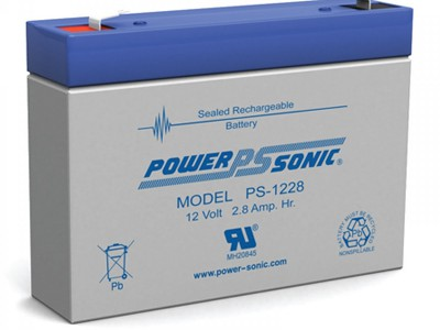 Powersonic PS-1228 12 Volt  2.8AH