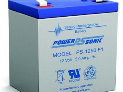 Powersonic PS-1250 12 Volt  5AH F1