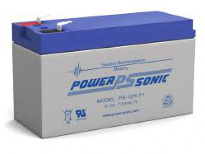 Powersonic PS-1270 12 Volt  7AH F1