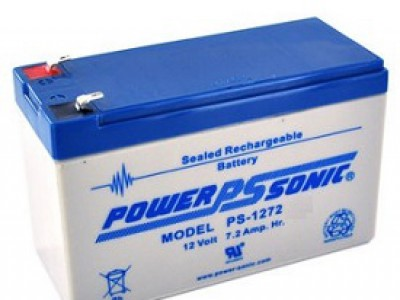 Powersonic PS-1272 12 Volt  7.2AH F2