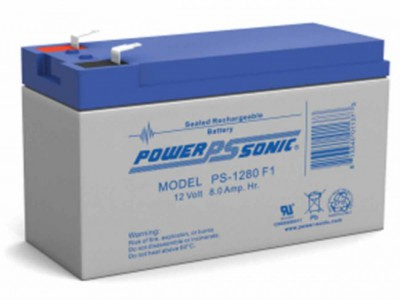 Powersonic PS-1280 12 Volt  8AH F1