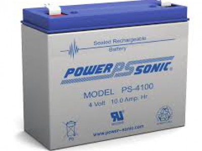 Powersonic PS-4100 4 Volt  10AH