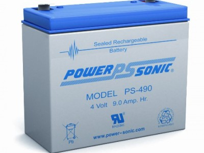 Powersonic PS-490 4 Volt  9AH