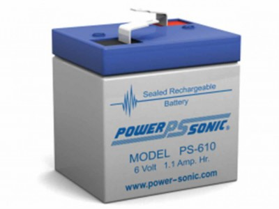 Powersonic PS-610 6 Volt  1.1AH