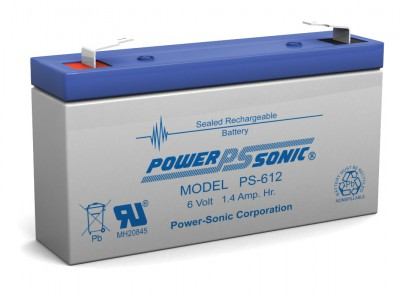Powersonic PS-612 6 Volt  1.4AH