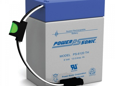 Powersonic PS-6120 Toy 6 Volt  12AH