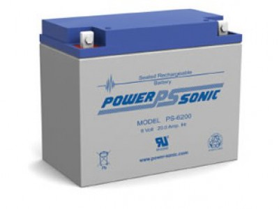 Powersonic PS-6200 6 Volt  20AH