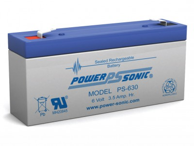 Powersonic PS-630 6 Volt  3.5AH