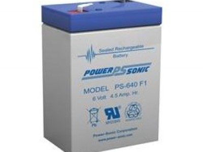 Powersonic PS-640F 6 Volt  4.5AH