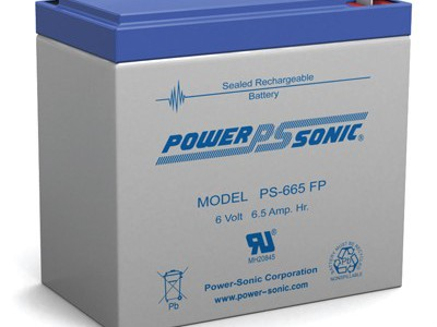 Powersonic PS-665 6 Volt  6.5AH