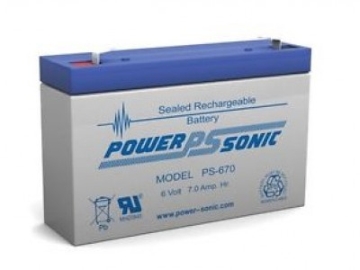 Powersonic PS-670 6 Volt  7AH
