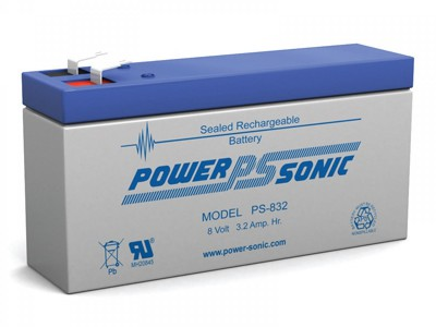 Powersonic PS-832 8 Volt  3.2AH