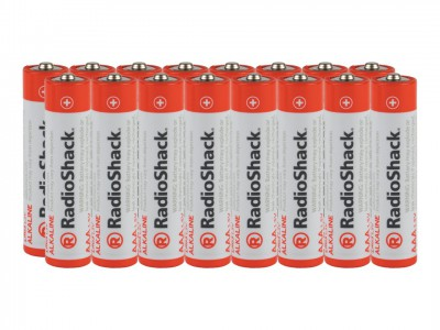 AAA Alkaline Batteries - 16-Pack