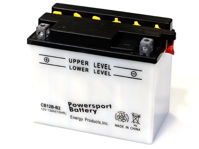 YB12B-B2 Powersport Batteries