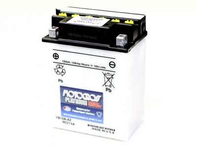 YU-YB-14A-A2 Powersport Battery