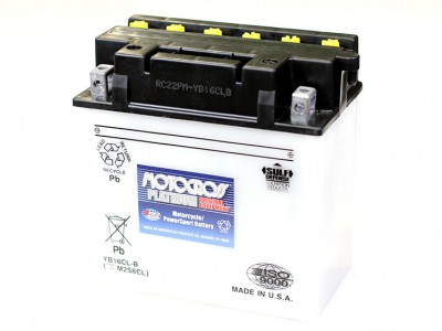 YU-YB16CL-B Powersport Battery