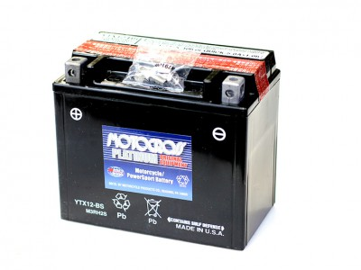 YU-YTX12-BS Powersport Battery