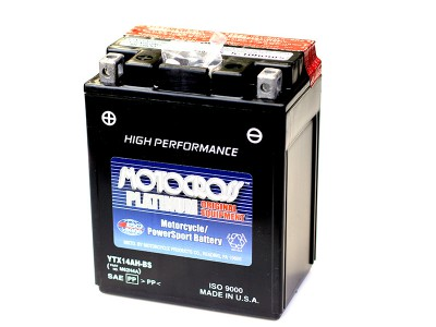YU-YTX14AH-BS Powersport Battery