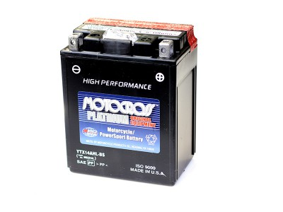YU-YTX14AHL-BS Powersport Battery