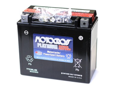 YU-YTX20L-BS Powersport Battery