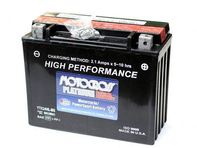 YU-YTX24HL-BS Powersport Battery
