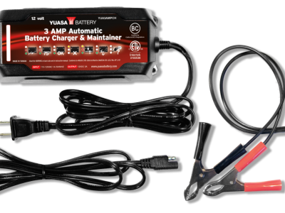 3 AMP AUTOMATIC BATTERY CHARGER & MAINTAINER